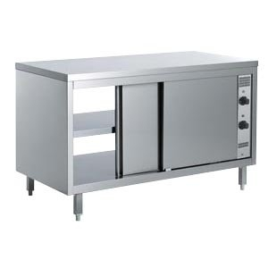Tables heated cabinet