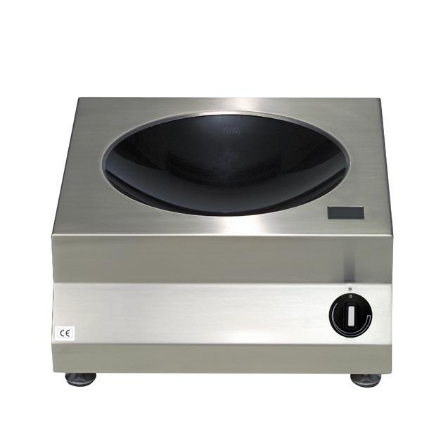 Induction wok stove