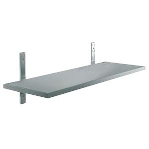 Wall shelves, stainless steel