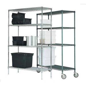 Shelves chrome