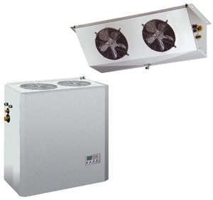 Cooling units for cold rooms split